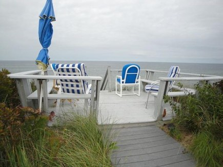 Dennis Cape Cod vacation rental - coffee on the deck? yes, please...
