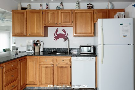 Dennis Cape Cod vacation rental - who wants to hand wash dishes on vacation? not me. a Dishwasher!