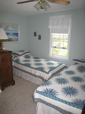 Dennis Village Cape Cod vacation rental - Other second floor bedroom has two twins