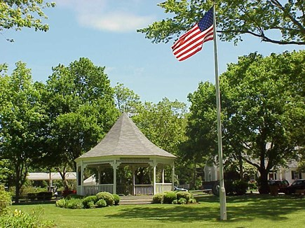 Dennis Village Cape Cod vacation rental - You won't want to miss Monday evening concerts at the gazebo
