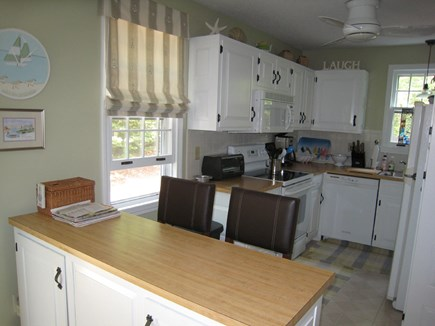 Dennis Village Cape Cod vacation rental - Kitchen as viewed from dining area