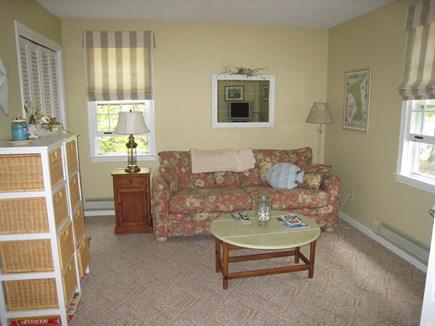 Dennis Village Cape Cod vacation rental - The Den (4th BR) on first floor is behind bi-fold doors off foyer