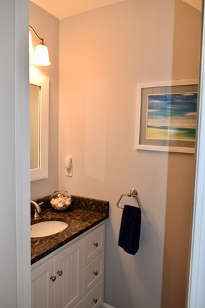 Brewster Cape Cod vacation rental - Powder room.