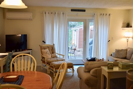 Brewster Cape Cod vacation rental - Living room with central air, cable and wifi.
