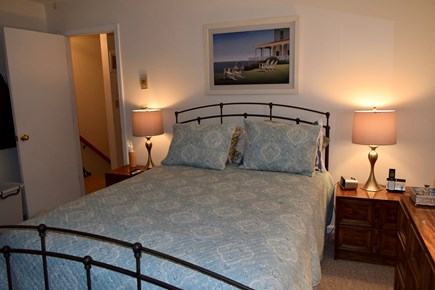 Brewster Cape Cod vacation rental - Master bedroom. Central air.  Cable tv.