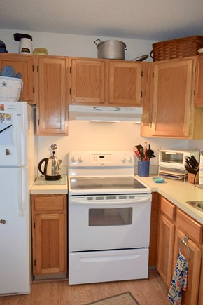 Brewster Cape Cod vacation rental - Fully equipped galley kitchen.