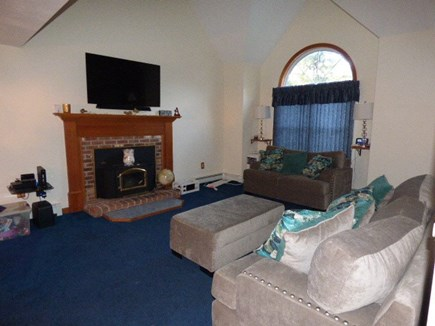 South Dennis Cape Cod vacation rental - Living room with flat screen TV