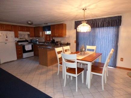 South Dennis Cape Cod vacation rental - Eat in Kitchen, slider to back deck