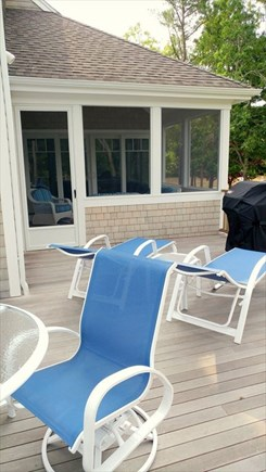 New Seabury New Seabury vacation rental - Deck