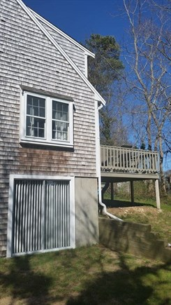 Yarmouthport Cape Cod vacation rental - Deck