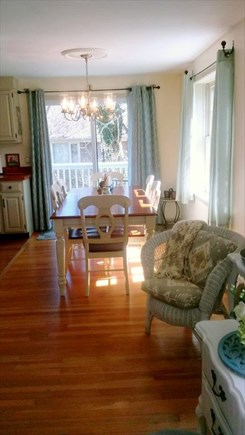 Yarmouthport Cape Cod vacation rental - Dining area