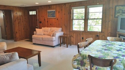 Mashpee Cape Cod vacation rental - Living room/dining room