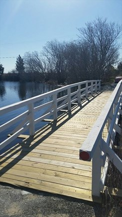 Mashpee Cape Cod vacation rental - Walkway to Popponesset Beach
