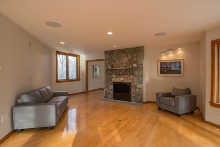 East Sandwich Cape Cod vacation rental - Family room