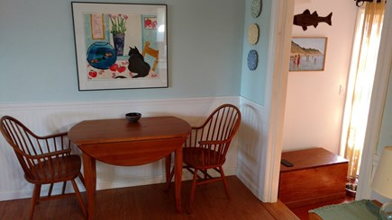 Wellfleet Cape Cod vacation rental - Additional eating area in kitchen