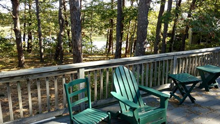 Wellfleet Cape Cod vacation rental - Deck with view of salt marsh at high tide