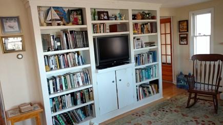 Wellfleet Cape Cod vacation rental - Living room, TV