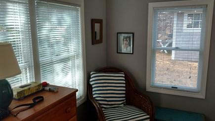Wellfleet Cape Cod vacation rental - Master bedroom sitting area