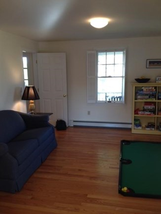 Chatham Cape Cod vacation rental - Game room with pull out couch on first floor