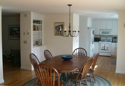 Chatham Cape Cod vacation rental - Dining room adjacent to kitchen