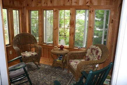 Brewster Cape Cod vacation rental - Wonderful three season room