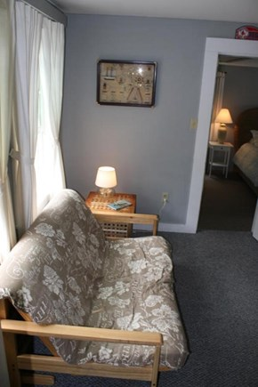 Brewster Cape Cod vacation rental - Comfortable Futon is a great spot to read a book