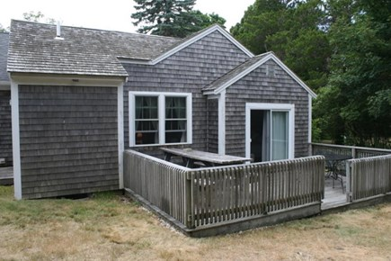 Brewster Cape Cod vacation rental - Wonderful deck to relax with the family