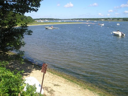 Falmouth, Teaticket  Cape Cod vacation rental - Great Pond has its own little peninsula that is great for kids