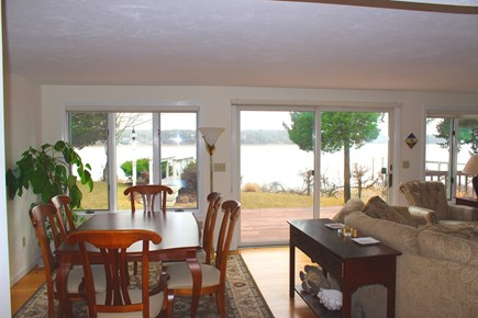 Eastham Cape Cod vacation rental - Dining with a View