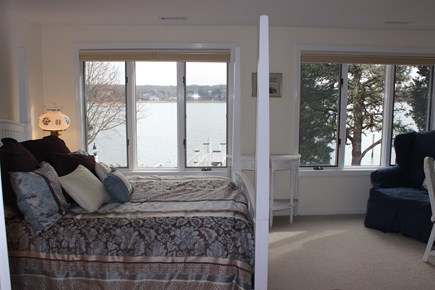 Eastham Cape Cod vacation rental - 3rd Suite with Queen Full Bath and Water Views