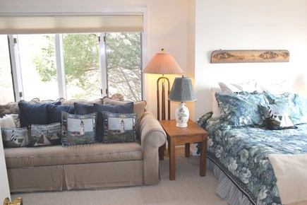 Eastham Cape Cod vacation rental - 2nd Suite with Queen, sleeper sofa and water views