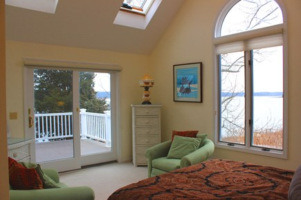 Eastham Cape Cod vacation rental - 4th Suite with Queen, Water VIews, Private Deck and Full Bathroom
