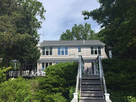 Eastham Cape Cod vacation rental - View of the back of the home from the dock