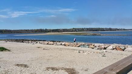 Hyannisport Cape Cod vacation rental - Look at that beach