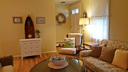 Hyannisport Cape Cod vacation rental - Sunny living room area