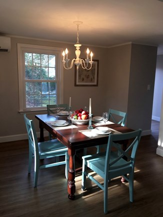 Mashpee/New Seabury New Seabury vacation rental - Dining Room - table expands seating for 6-8.