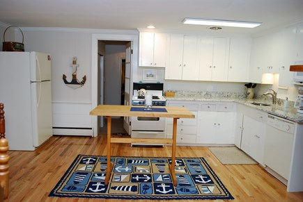 East Orleans Cape Cod vacation rental - Bright well equipped kitchen with granite counter top.