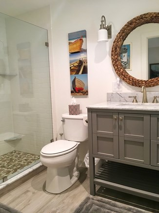East Orleans Cape Cod vacation rental - New master bathroom.