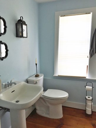 Harwich Cape Cod vacation rental - Second floor bathroom in the main house.