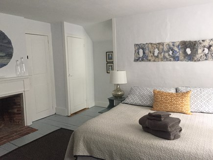 Harwich Cape Cod vacation rental - King size bedroom on the second floor w/ access from front stair