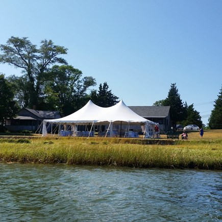 Eastham Cape Cod vacation rental - Function Lawn- Off Season only