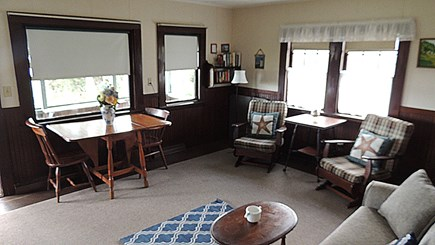 Eastham Cape Cod vacation rental - Living Room/Dining