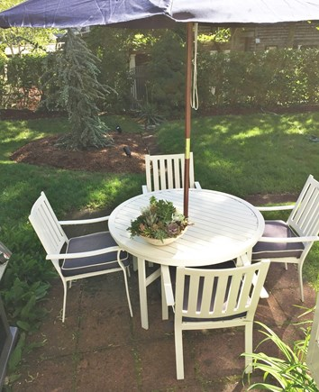 Provincetown Cape Cod vacation rental - Eat or relax on the patio in the beautiful yard.Gas grill