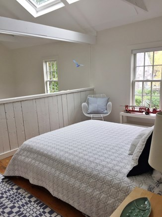Provincetown Cape Cod vacation rental - Loft bedroom with queen size bed