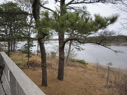 Wellfleet Cape Cod vacation rental - View from the deck.