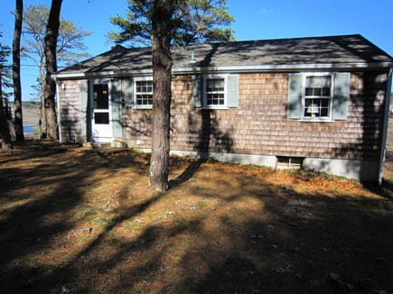 Wellfleet Cape Cod vacation rental - Street side of house.