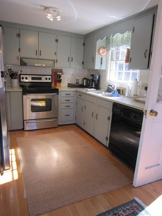 Wellfleet Cape Cod vacation rental - Well stocked kitchen with newer appliances.