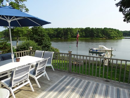 Bass River, S Yarmouth Cape Cod vacation rental - Enjoy endless hours relaxing and dining on spacious deck