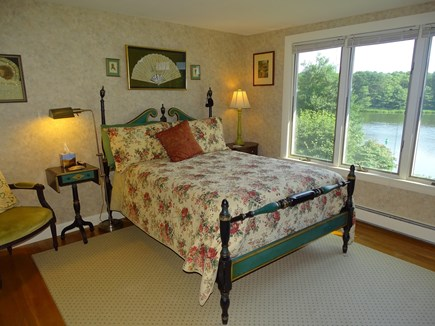Bass River, S Yarmouth Cape Cod vacation rental - Main floor full bedroom, water views