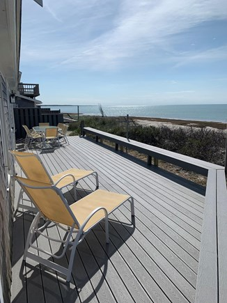 Orleans Cape Cod vacation rental - Private Beach Views of the Bay from Your Expansive New Trex Deck